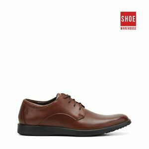 Hush Puppies VITRUS PT OXFORD Brown Mens Lace-up Dress/Formal Leather Shoes
