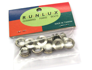 STAINLESS STEEL CHAINRING BOLTS FOR SINGLE CHAINSET