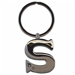 Alphabet-Initial-Key-Ring-With-Crystal-Inserts-Letter-S