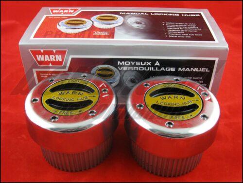 Warn 38826 Premium 4WD Manual Locking Hubs