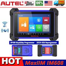 Autel Im608 J2534 Ecu Key Immo Programming Diagnostic Service Tool Oil Epb Dpf