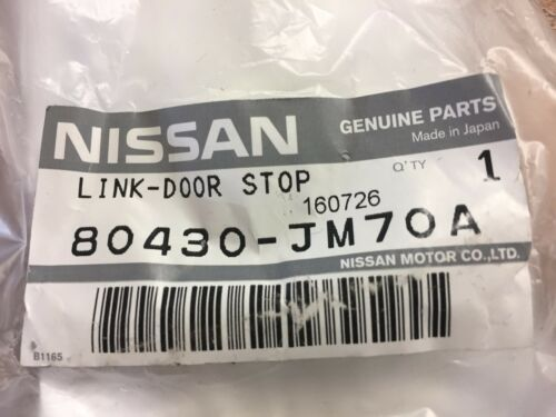 FITS LEFT OR RIGHT SIDE FRONT NEW OEM NISSAN ROGUE 2008-2014 FRONT DOOR CHECK