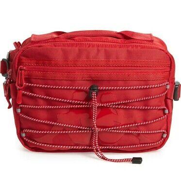 Kappa 222 Banda Aldaz Black Waist Bag Retail $90