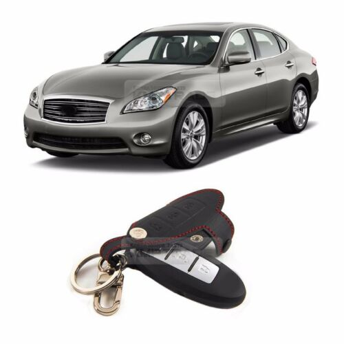 MOBIS Smart Key Holder Leather Cover Case 3Button for INFINITI M35 M36 M37 M56