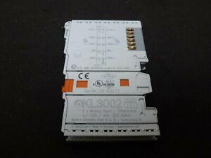 Nuevo Beckhoff kl3122-0000 terminal de autobús 2-Channel analógico kl3122