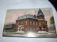 VINTAGE 1910 CRAVEN COUNTY COURT HOUSE & JAIL NEWBERN NEW BERN NC POSTCARD