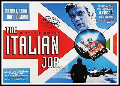 The Italian Job 2    British Movie Posters Classic Vintage /& Films