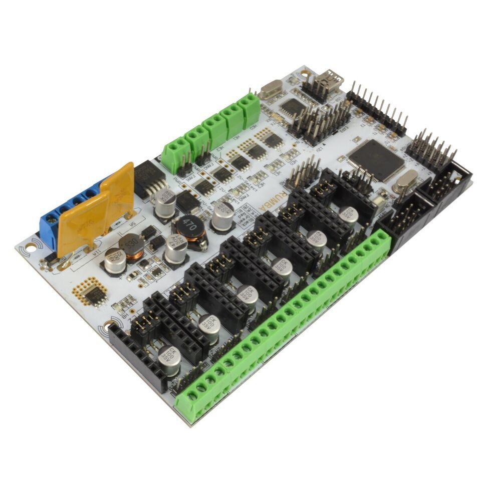 3D Printer, Rumba ATmega2560 controller board til Reprap