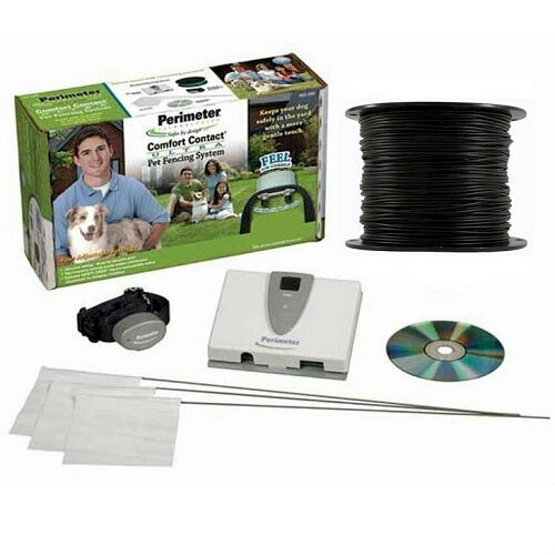 Perimeter Technologies Ultra Comfort Contact Inground Fence 1 Dog Kit 500ft 16ga