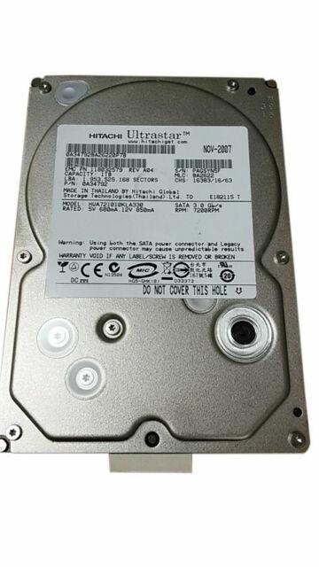 "iMac Hitachi 1TB HDE721010SLA330 7200RPM 3.5"" SATA Desktop Hard Drive Internal"
