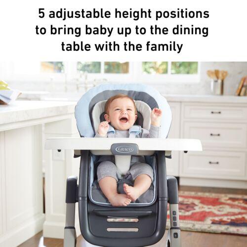 Graco Baby Duodiner DLX convertir Infant Rehausseur Chaise Haute Mathis NEUF