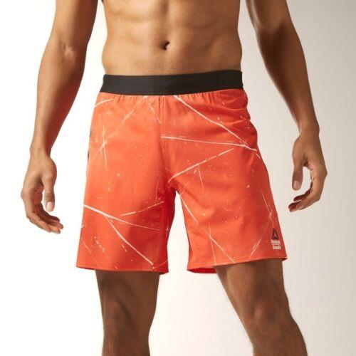 Reebok Men/'s CrossFit Super Nasty Speed Board Shorts BK1090