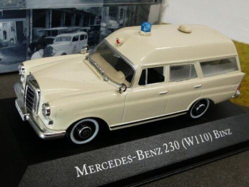 1//43 Atlas MB 230 Binz Rotes Kreuz Ambulance Collection