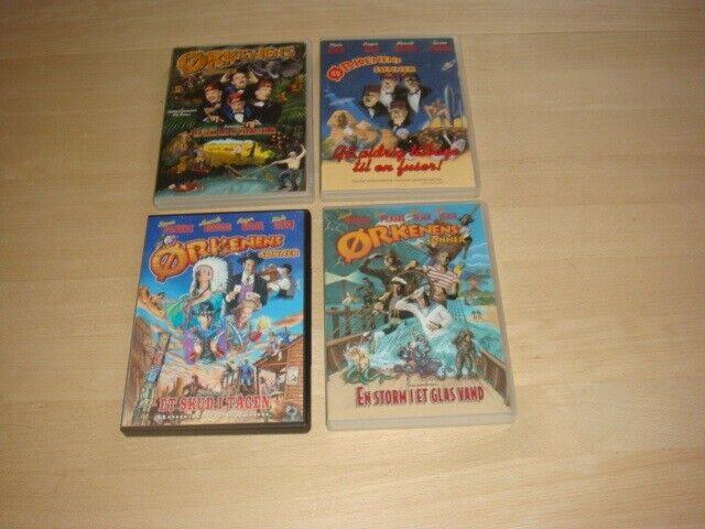 Ørkenens sønner, DVD, komedie