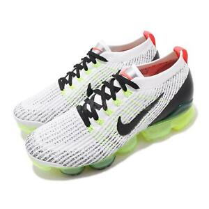Nike-Air-Vapormax-Flyknit-3-White-Black-Volt-Men-Running-Shoe-Sneaker-AJ6900-100