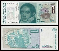 Argentina - 1 Austral ND 1985-1989  Pick 323a  SC = UNC