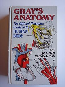 Details about Gray's Anatomy Official Reference Guide to the Human Body  (1934, Hardcover)