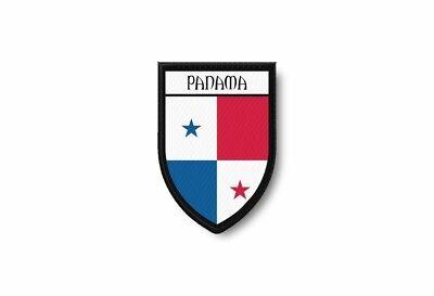 100% QualitäT Patch Aufnäher Bügelbilder Aufbügler Wappen Flagge Flaggen Fahne Panama Zu Hohes Ansehen Zu Hause Und Im Ausland GenießEn