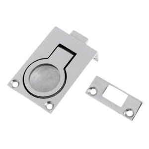Boat Hatch Slam Latch Cabinet Lift Pull Ring Lock Marine 316 Stainless steel