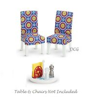 American Girl My Ag Table Accessories Only For 18 Dolls Chair-covers