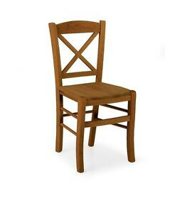 Sedie In Legno Arte Povera.Sedia In Legno Arte Povera Noce Cucina Ordine Minimo 4 Pezzi Ebay