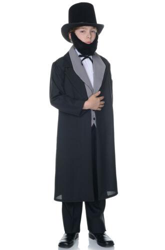 Brand New Abraham Lincoln Presidential Child Costume