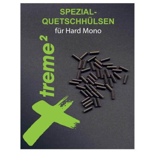 Angeln Cebbra Xtreme Hard Mono Quetschhülsen Stinger Vorfächer für das Zander