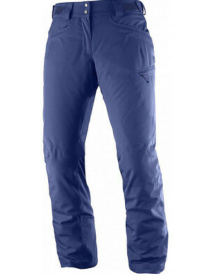 Salomon W FANTASY PANT Medieval Blue Skihose Gr. XS R   eBay