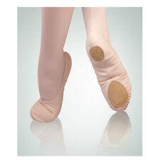 Body Wrappers 246A Adult Size 8.5M Peach Canvas Split Sole Ballet Slipper