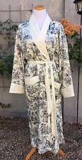 Victoria's Secret size M L medium large women's long gold label toile print robe