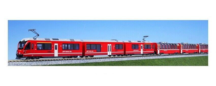 Noch 7074041    Kato 10-1318  Spur N Bernina Express tlg. Startset  NEU