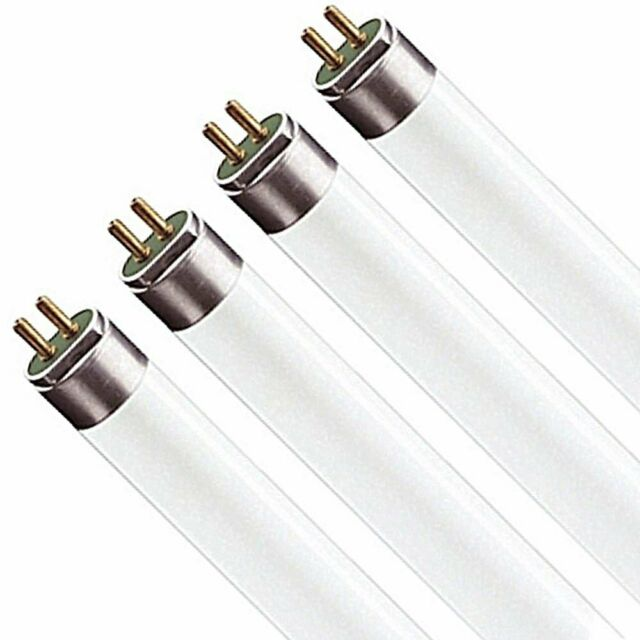 Pack of 6 F54T5//865//HO 54-Watt T5 Fluorescent High Output Bulbs 54W 48 inch Fluorescent Light Bulbs 6500K Daylight