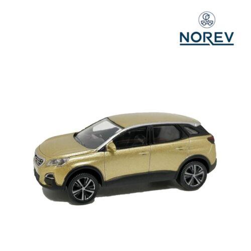 Norev 1:64 Peugeot 3008 2016 SUV Diecast Model Car