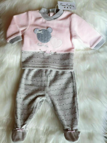Pierre Cardin Baby 2 Piece Set Super Sweet Girl Gift Cartons IN 3 Sizes