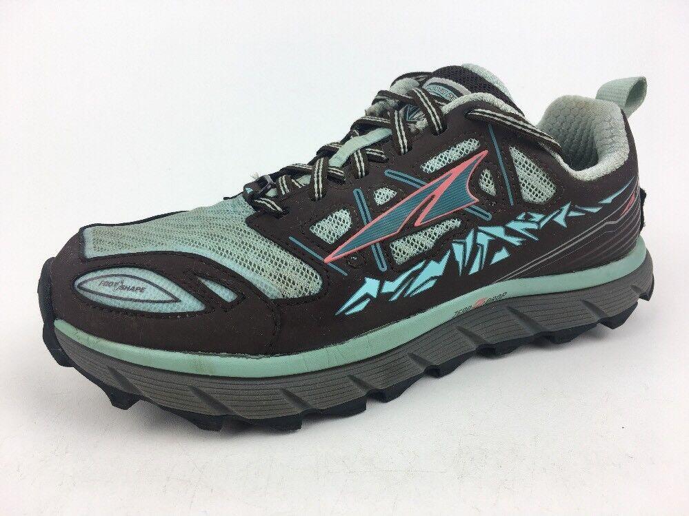 Altra Lone Peak Neoshell Neoshell Neoshell 3.0  Trail Running shoes - Women's Brown Mint Sz 7 7c1c23
