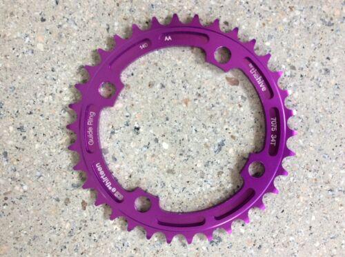 CR.34.P E mtn bike//dh//bmx//dj Thirteen E13 Chainring 34t purpl ano 7075-T6
