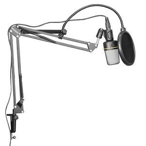 Neewer-Mikrofon-Aufhaengung-Boom-Scheren-Arm-Stativ