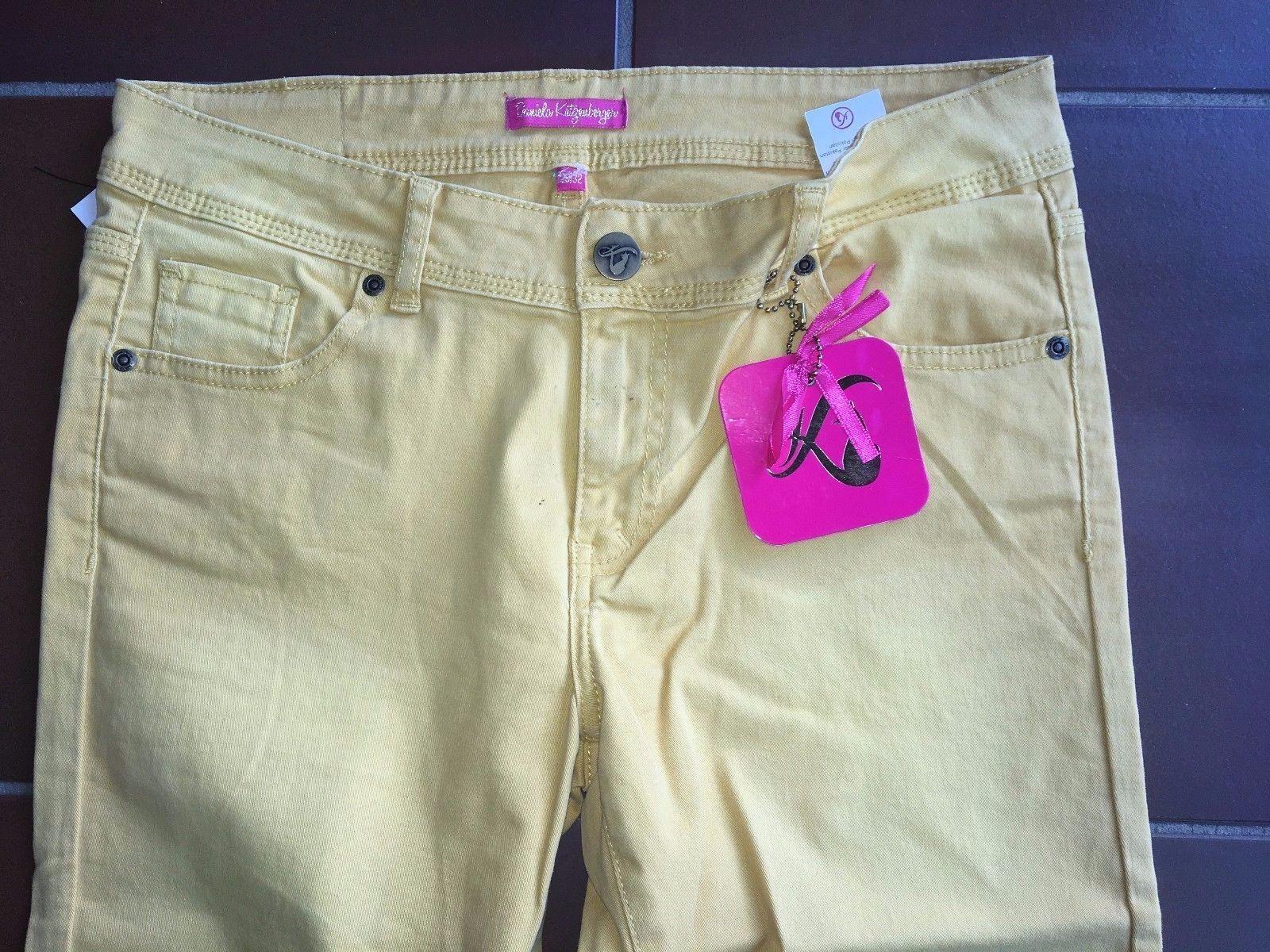 Damen Jeans Hose gelb W 30 32 Gr. ca. 40 40 40 von Daniela Katzenberger  Neu | Billig ideal  | Spaß  | Primäre Qualität  | Jeder beschriebene Artikel ist verfügbar  70c637