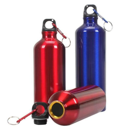 Aluminum Outdoor Sport Cycling Camping Bicycle Bike Water Bottle Drinking Kettle