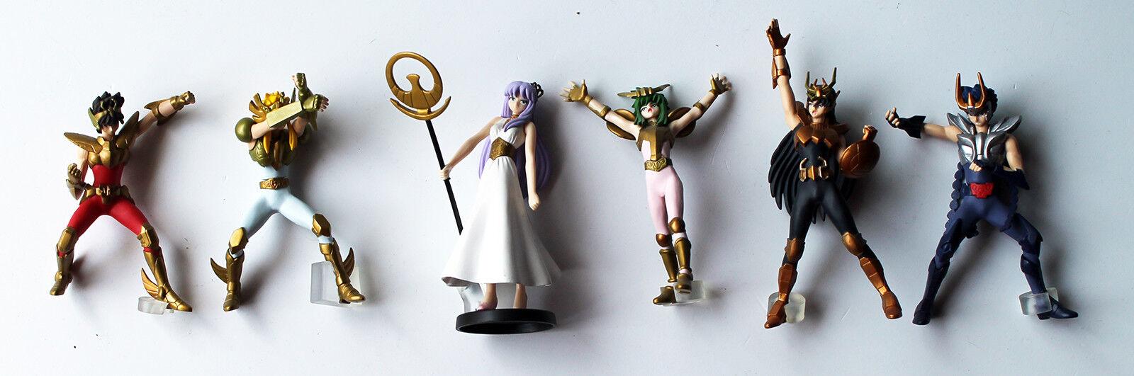 HGIF Saint Seiya  5 Bandai Gashapon Minifigure