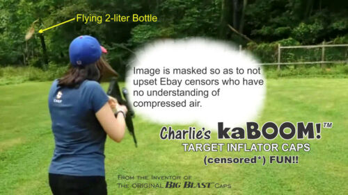 Charlie/'s kaBOOM Reusable!! 10-Pack Catfish JUGS Fits all Cola bottles