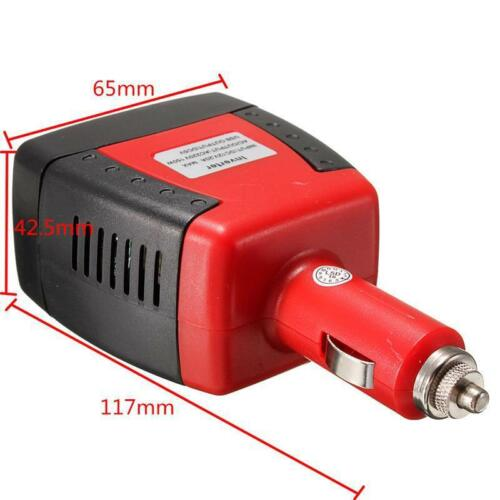Power Auto Inverter From Auto To Laptop Usb Car Charger Converter 12VDC AC 220V