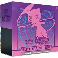 Fusion Strike Elite Trainer Box Pokemon TCG Presell Nov 12th