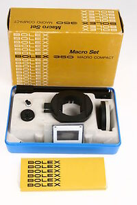 Bolex-350-Macro-Compact-Set-mit-OVP