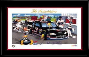 THE-INTIMIDATORS-Dale-Earnhardt-Signed-Nascar-Warner-Bros-Daytona-Collectible
