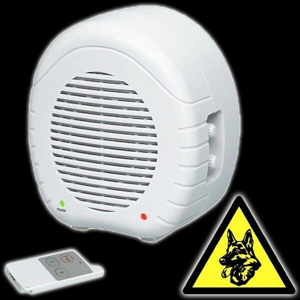 Elektronischer Hund Radarsensor Fernbedienung Alarmanlage bellender Bellen EW01