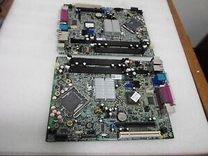 LOT-OF-2-DELL-0K075K-MOTHERBOARD-no-cpu-for-OPTIPLEX-960-SFF
