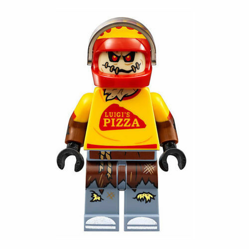 Minifigure The Lego Batman Movie 70910 New LEGO Scarecrow Pizza Delivery
