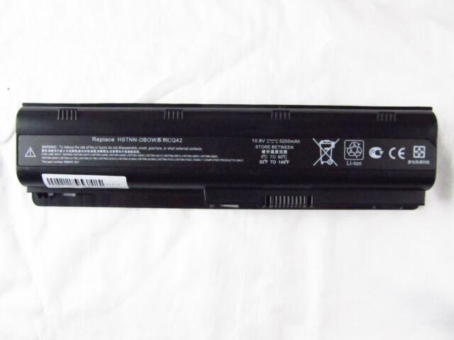 Spare Battery For 593553-001 HP Compaq Presario CQ42 CQ57 CQ72 Laptop 6Cells