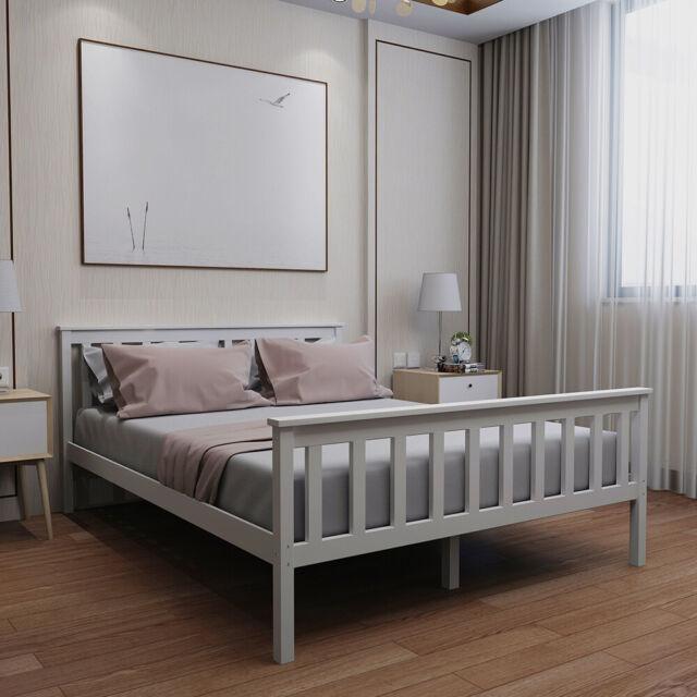 Thiago Modern Metal Wooden Bed Frame